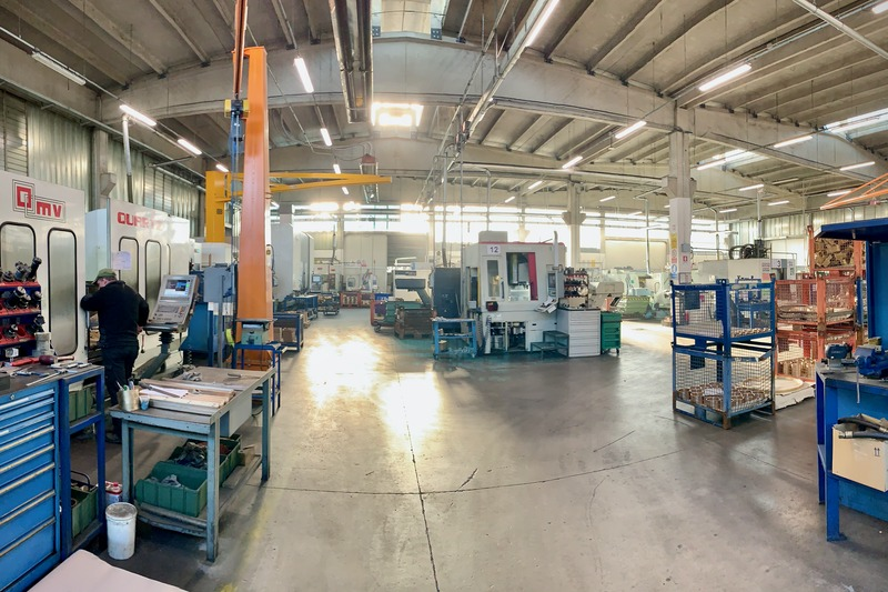 Overview of the machining department 2