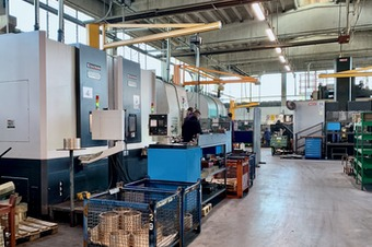 Overview of the machining department 1